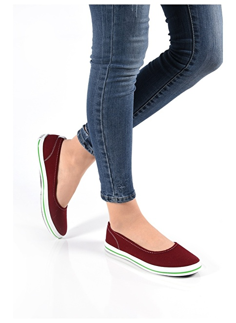 Sapin Ayakkabı Bordo